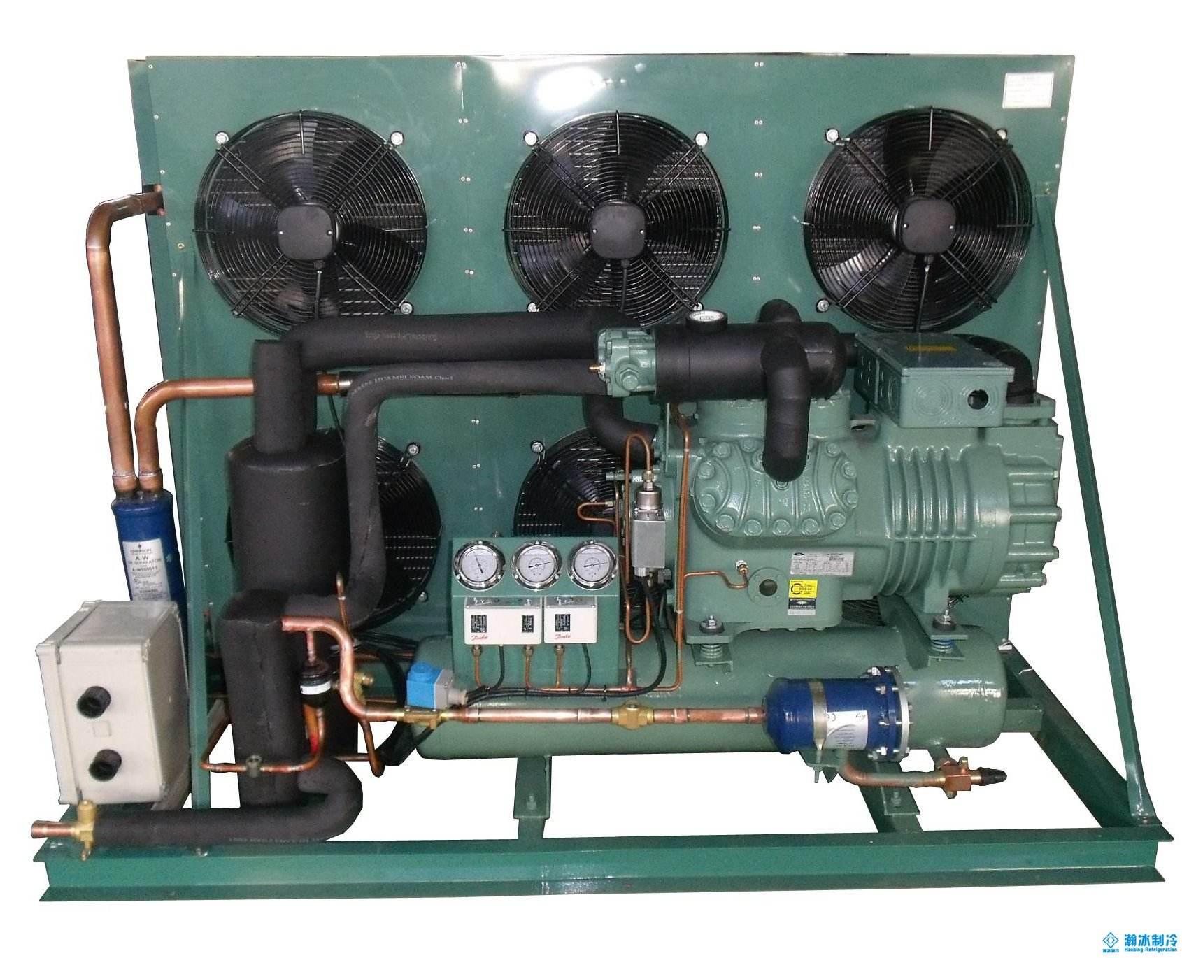 速冻低温双极压缩机组